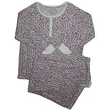 Carole Hochman Women's 2pc. Floral Print Pajama Set, Wild Blossom, 3X