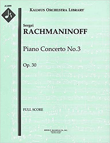 Op.30 Piano Concerto No.3 Study score