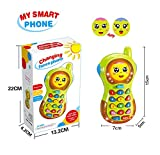 7 month old baby girl - Baby Phone Toy 3-12 Months, Baby Phone Toy 6-9 Month Old Toys Gift for Baby Girl Boys Toy 9-18 Months Toddlers Baby Toy Phone for 1 2 3 Year Olds Boy Girl Birthday Gift for 6 Month Old Boys Toys