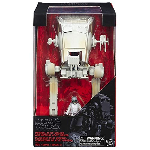 Star Wars Black Series Imperial ATST Walker and Imperial ATST Driver Action Figures