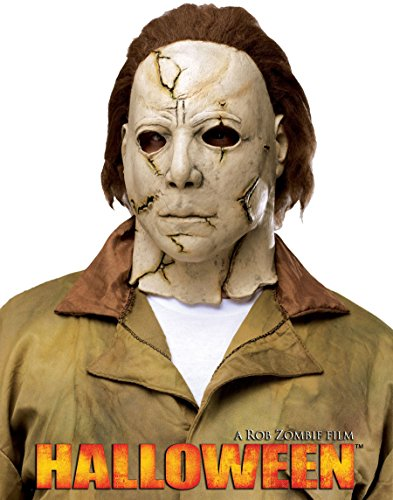 (Fun World Kids' Big Michael Myers Child Mask-Rob Zombie's Halloween, Multi,)