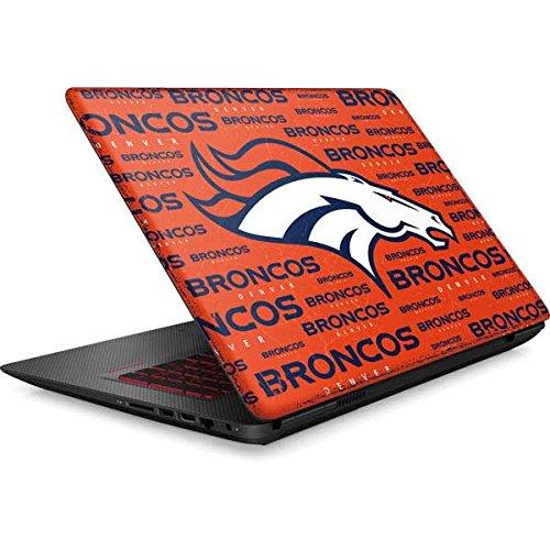 Skinit NFL Denver Broncos Omen 15in Skin - Denver Broncos Orange Blast Design - Ultra Thin, Lightweight Vinyl Decal Protection by Skinit