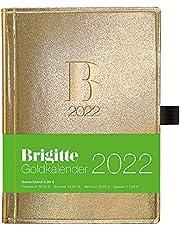 Brigitte Goldkalender 2022 - Buchkalender - Taschenkalender - Lifestyle - 10x14: Taschenkalender, Planner, Organizer