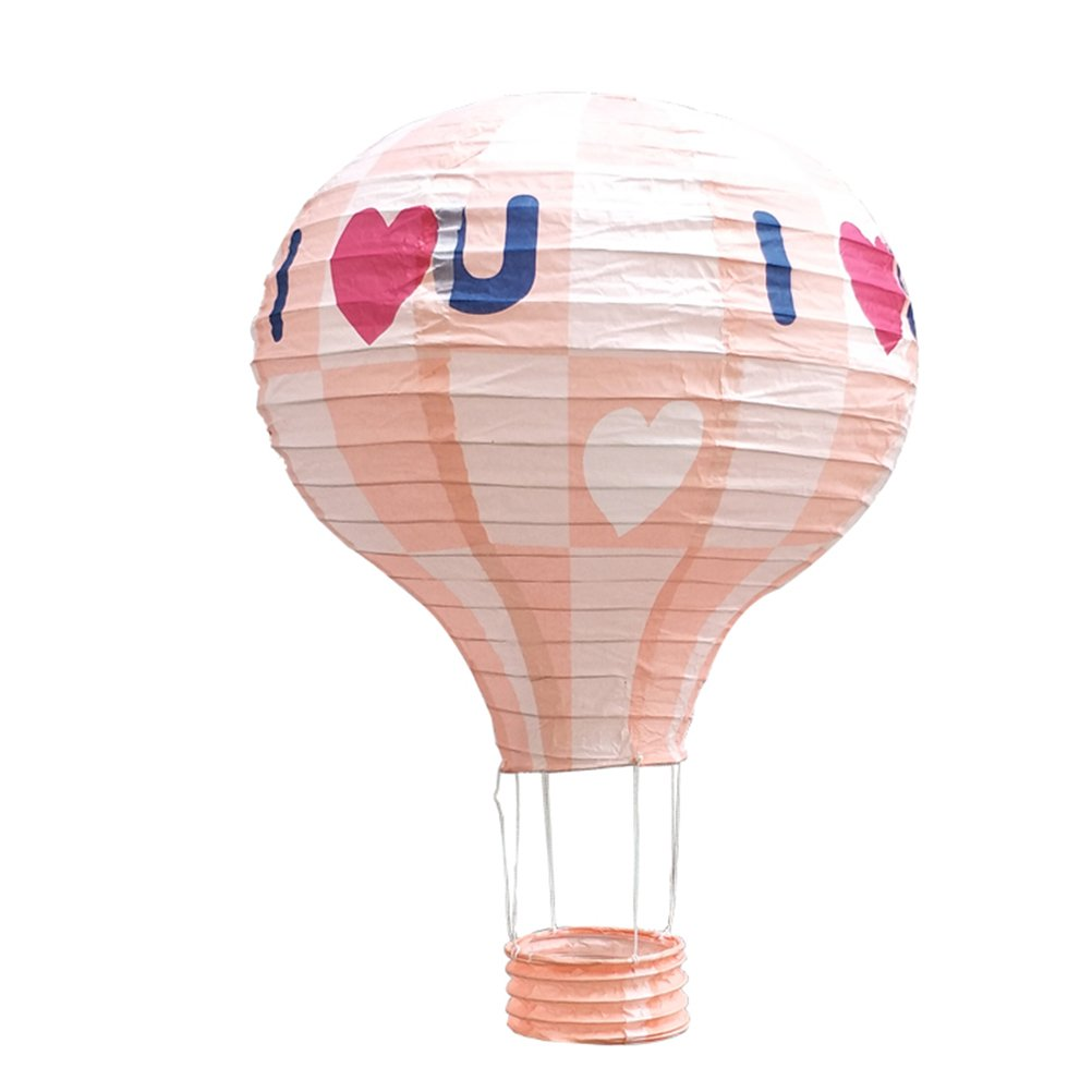 Amazon.com: TOYMYTOY Paper Lantern,12 Inch Hanging Hot Air Balloon ...