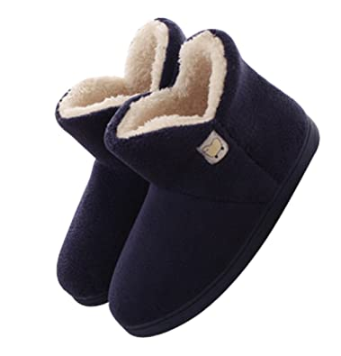 where can i buy top brands new york Amazon.com | C'wait Winter Mens Slipper Boots Fuzzy Slippers ...