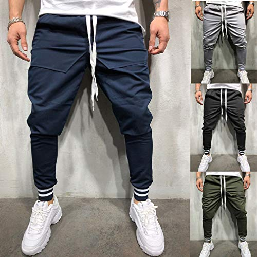 Sportivi Hip 3xl Pantaloni Jogging Nero Casual Hop M Uomo Da Running dgnnqRWT