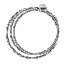 Necklace for Pandora Beads by Shamballa London - Silver plated - available in many sizes
