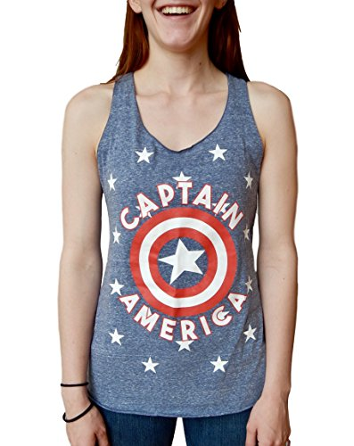 Captain America Shield Juniors Tri Blend product image