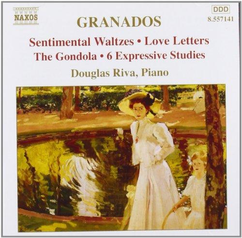 Granados: Piano Music Vol. 7 - Sentimental Waltzes; Love Letters; The Gondola; 6 Expressive Studies ()