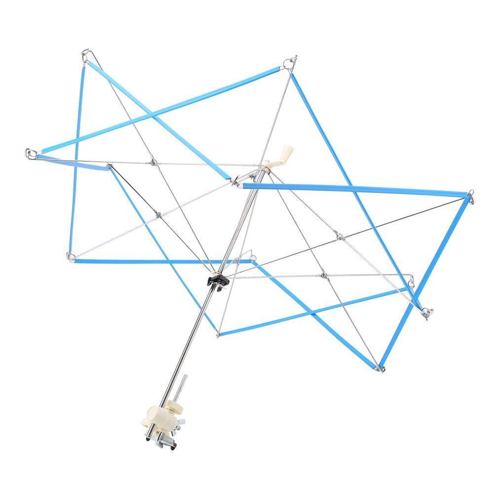 Knitting Umbrella Plastic Metal Swift Wool Yarn String Winder Holder Hanks Skeins Line for Swift Winding Lines, Yarns, Fiber