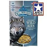 BLUE Wilderness Trail Treats Grain-Free Wild Bits Chicken Recipe Dog Treats 4-oz