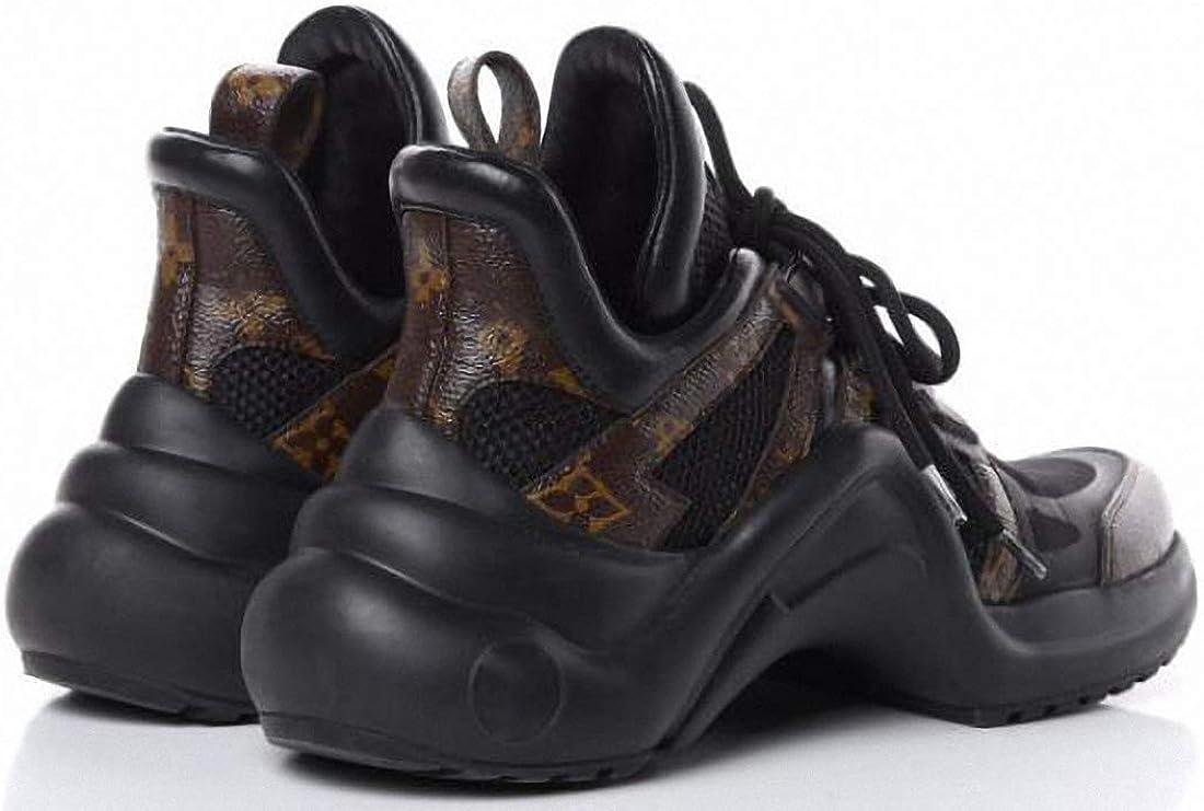 227 Chaussures de Sport Chaussures de Sport Chaussures de Mode Chaussures de Fitness Chaussures de Course Chaussures de Sport Basses Chaussures pour Hommes et Femmes Monogram Black