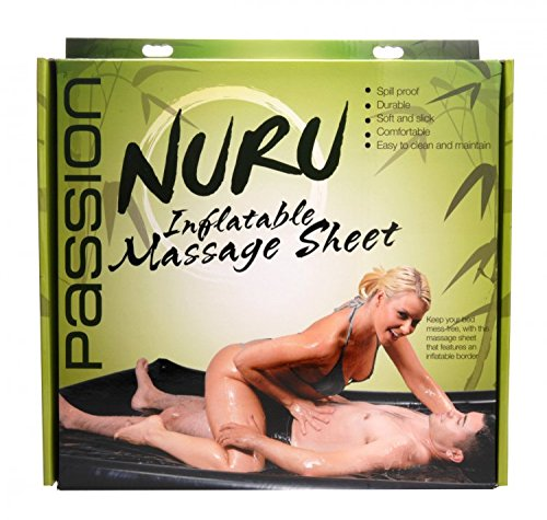 Passion Lube Nuru Inflatable Vinyl Massage Sheet ae274