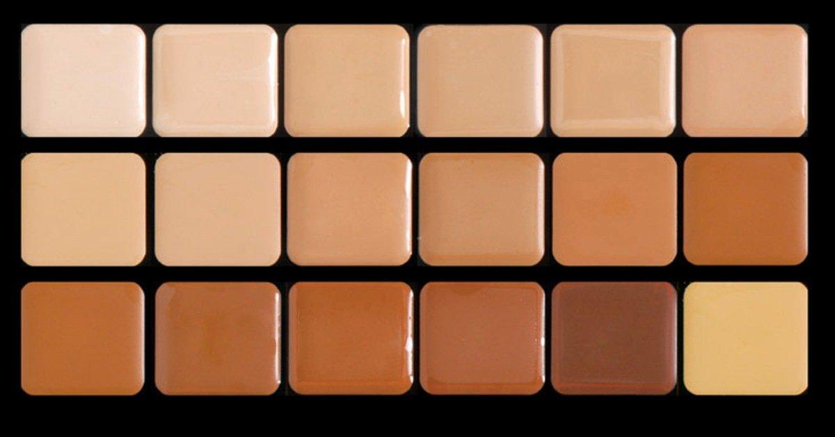 Graftobian Warm HD Glamour Creme Foundation Super Palette