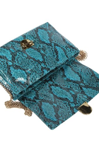 Stella Mccartney sac à l'épaule femme en cuir dstyling blu