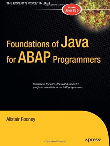 foundations of java for abap programmers alistair rooney rh amazon com ABAP Certification ABAP Examples