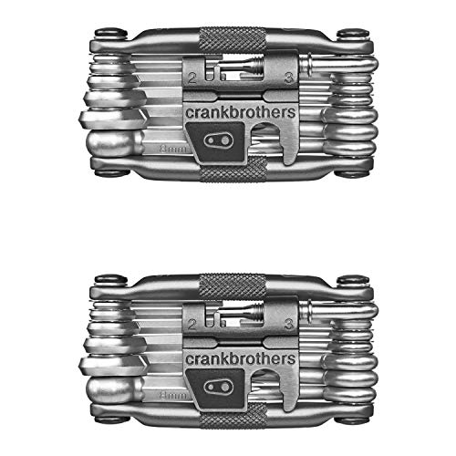 CRANKBROTHERs Multi Bicycle Tool (19-Function, Silver)