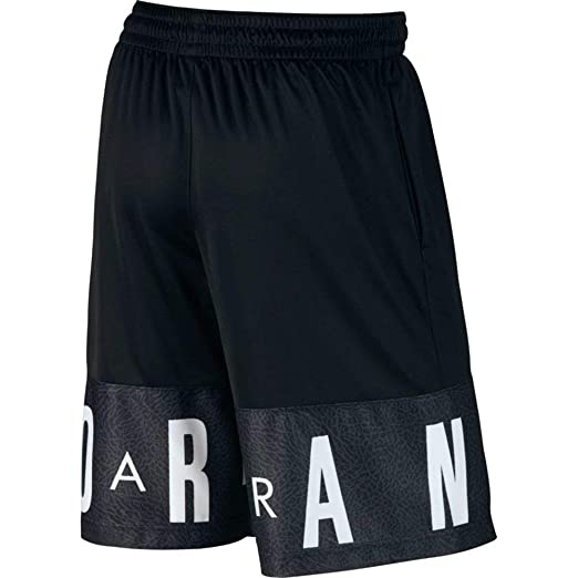 e12e19c9823db0 Amazon.com  Jordan Air Youth Boys Colorblocked Basketball Shorts ...