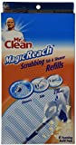 32 COUNT Mr. Clean Magic Reach Scrubbing Tub and Shower Pads, 4 Pack- 8 count ea = 32 refills MagicReach
