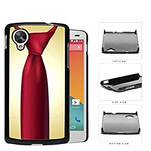 Red Tie Business Swag Hard Plastic Snap On Cell Phone Case LG Nexus 5