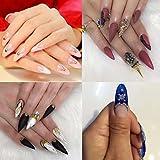 Natural Stiletto Fake Nails Sharp Ending pointy