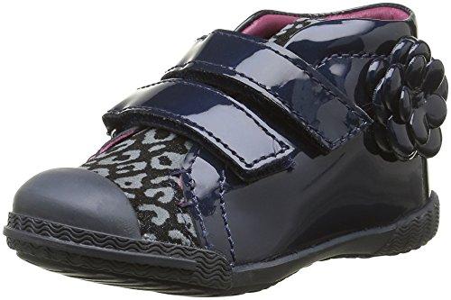 Mod8 Kum - Zapatos de primeros pasos Bebé-Niños Azul - Bleu (Marine imprimé)