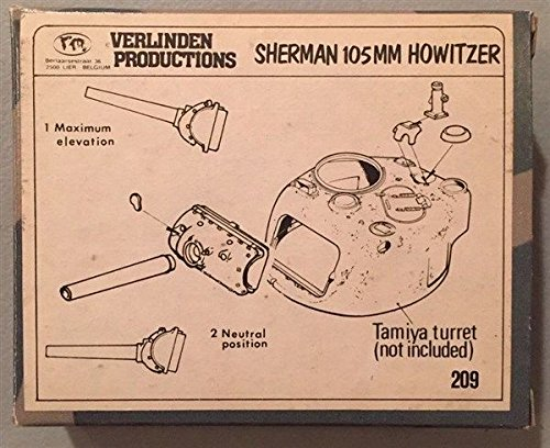 (Qiyun Verlinden Productions 1 35 Sherman 105mm Howitzer 209)
