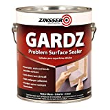 zinser sealer - Rust-Oleum 2301 White Zinsser Gardz Problem Surface Sealer, 1 gal Can (Pack of 4)