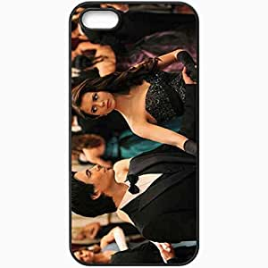Personalized For SamSung Galaxy S5 Phone Case Cover Skin Nina Dobrev Nina Dobrev Ian Somerhalder Actor Actress The Vampire Diaries Black