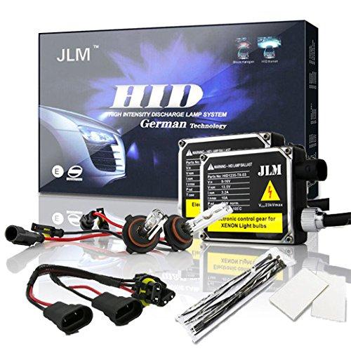 JLM Premium HID Conversion Kit 9006 6000K (HB4, Ultra White) by JLM