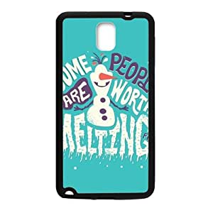 Frozen Snowman Olaf Cell Phone Case for Samsung Galaxy Note3