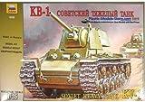 1 35 kv1 - Soviet Heavy Tank KV-1 WWII 1/35 Zvezda 3539