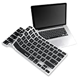 Insten BLACK Silicone Keyboard Cover Skin Compatible With MacBook Pro 13''