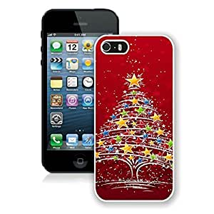 Beautiful Designed Case With Christmas tree 23 White For Case For HTC One M8 Cover