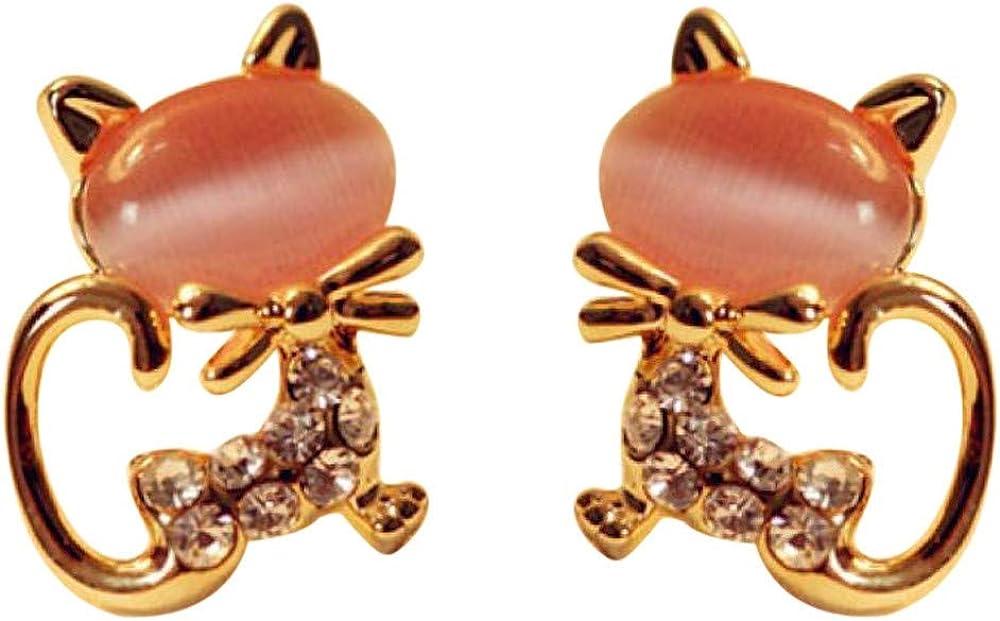 INoDoZ Earrings Cute Cat...