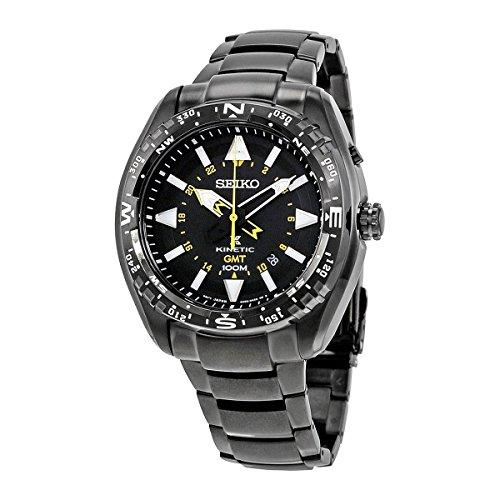 Seiko PROSPEX Kinetic quartz watch SUN047P1 Black