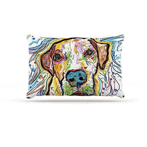 Kess InHouse Rebecca Fischer Ernie  Fleece Dog Bed, 50 by 60 , Multicolor