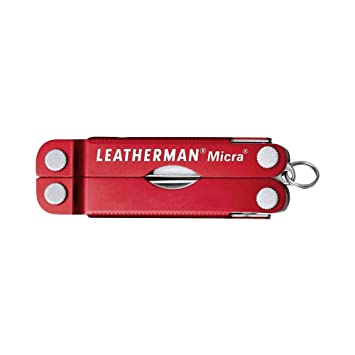 Leatherman LT64330181 HERRAMIENTAS LLAVERO, Rojo