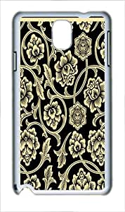 Protector Case For Samsung Galaxy Note 3 shepard-fairey-flower-vine Polycarbonate Plastic Hard Case Cover for Samsung Galaxy Note 3 Note III N9000 White