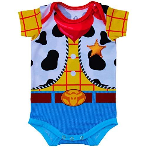 Body Bebê Estampado Woody - Isabb