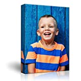 wall26 Personalized Photo to Canvas Print Wall Art - Custom Your Photo On Canvas Wall Art - Digitally Printed (48' x 32')