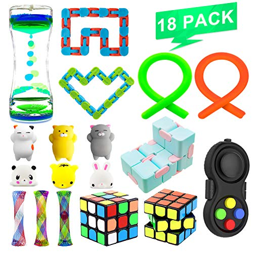 Fidget Sensory Toys Bundle Increase Focus Relieves