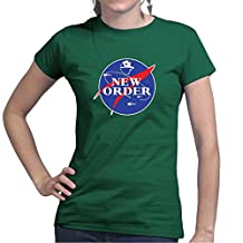 New Order Space Explortion Ladies T Shirt (Tee, Top)