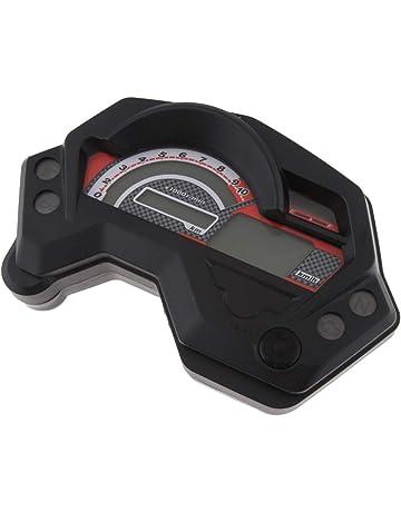 Shiwaki Medidor De Medidor De Tacómetro Para Velocímetro Digital LCD Para Yamaha FZ16 FZ 16 Fazer