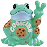 Westland Giftware Peace Frogs Peace Frogs Cookie Jar, 10-Inch
