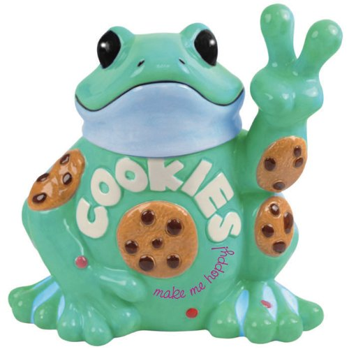 Westland Giftware Peace Frogs Peace Frogs Cookie Jar, 10-Inch by Westland Giftware