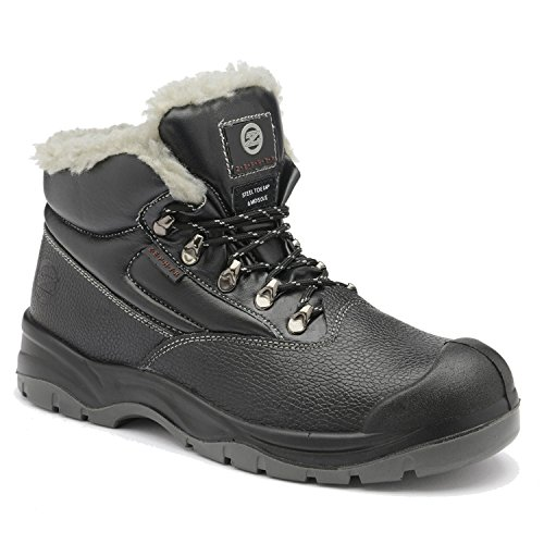 Work Boots Mid Safety Composite Thermal Winter SRC S3 Cold Zephyr Z001F Toe Cut 4OUfxF8