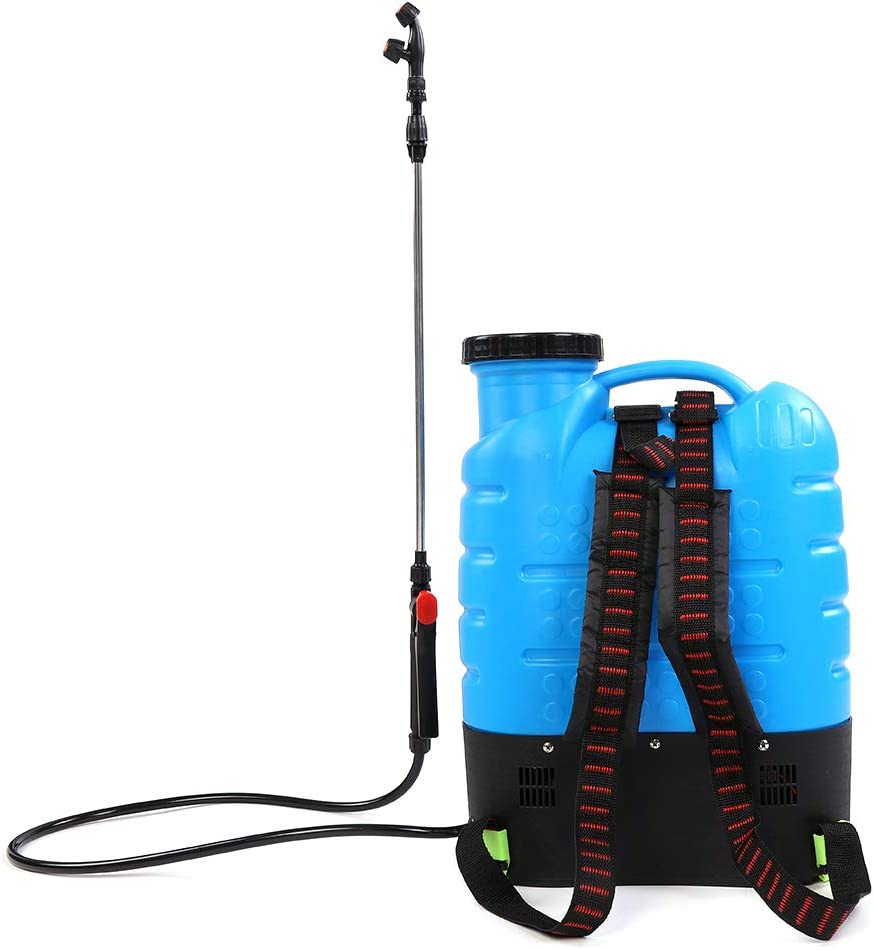 TOPINCN Electric Backpack Sprayer, 4.2Gal/16L Professional Battery Powered Electric Spraying Pump Backpack Fogger Multi-Purpose Agricultural Garden Pressure Sprayer Tool for Fertilizers Mild