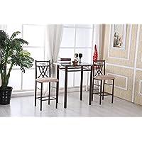 Hodedah High Table with 2 Chairs