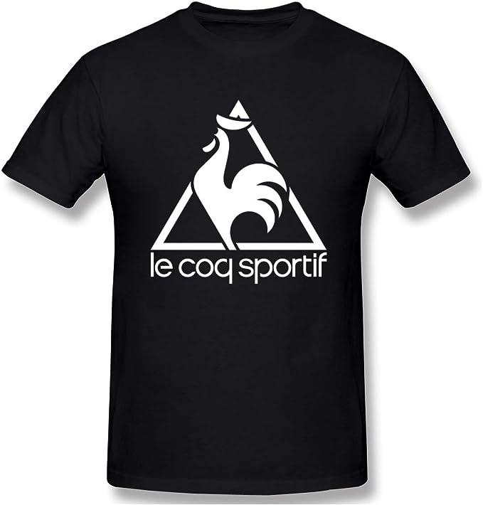 : Loicwoo Camiseta de manga corta para hombre